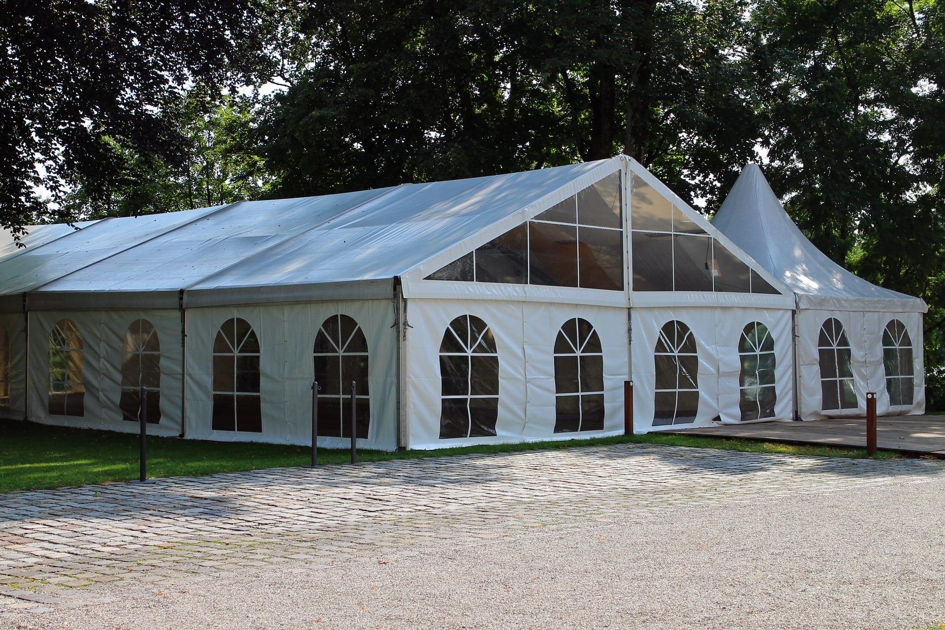 namiot handlowy - wysoka jakosc