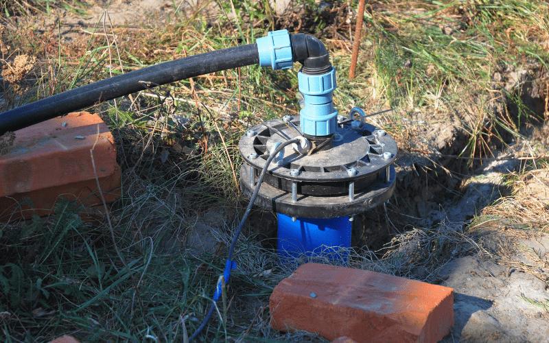 Zbiornik hydroforowy do studni głębinowej.