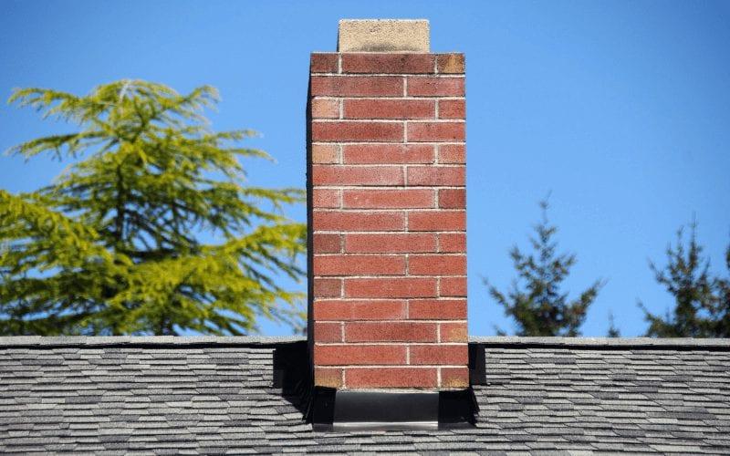 Frezowanie kominów - popsuty komin.